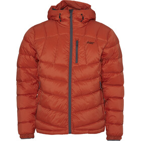 North Bend Summit Chaqueta de plumas Hombre, orange amber